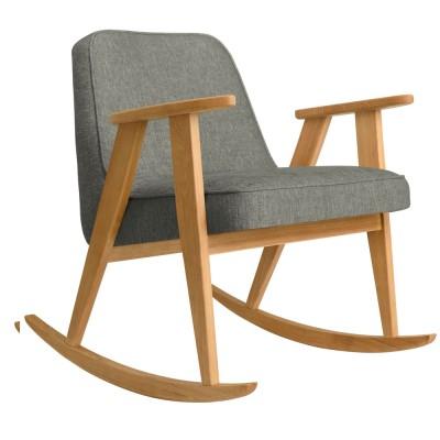 Rocking chair 366 Loft gris 366 Concept