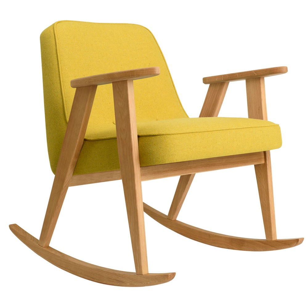366 rocking chair Wool mustard 366 Concept