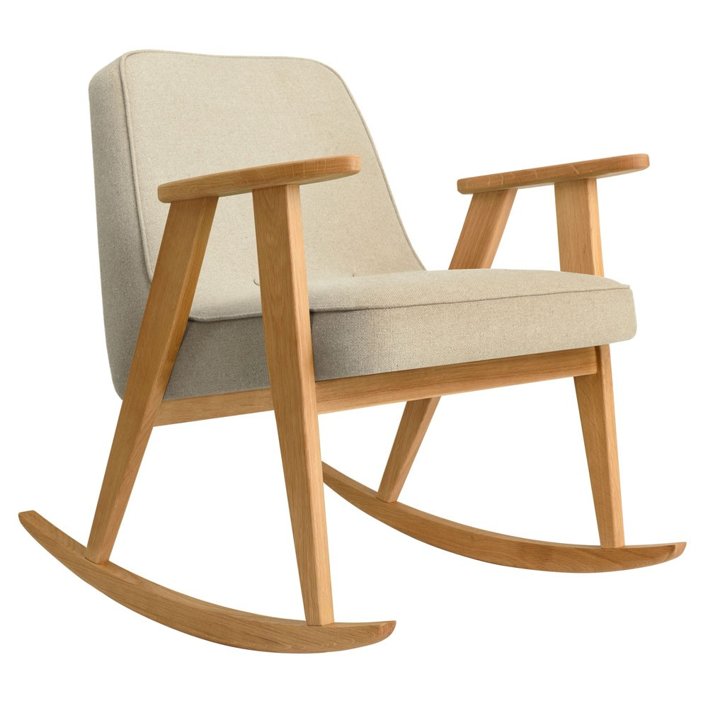 366 rocking chair Wool sand 366 Concept
