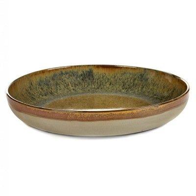 Dish Surface indi grey Ø32 cm Serax