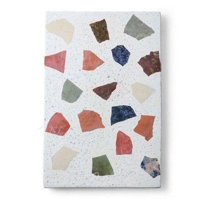 Planche en marbre terrazzo