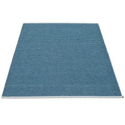 Mono rug ocean blue Pappelina Pappelina