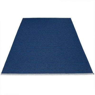 Mono rug dark blue Pappelina Pappelina
