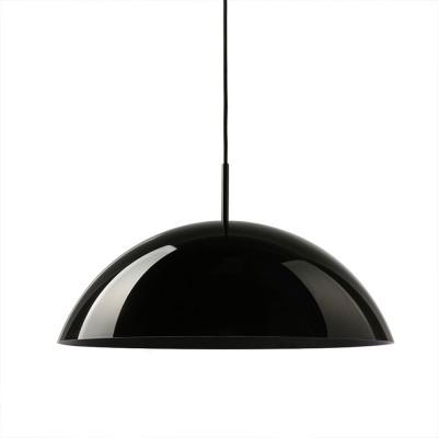Acrylic Cupola hanging lamp black HKliving HKliving
