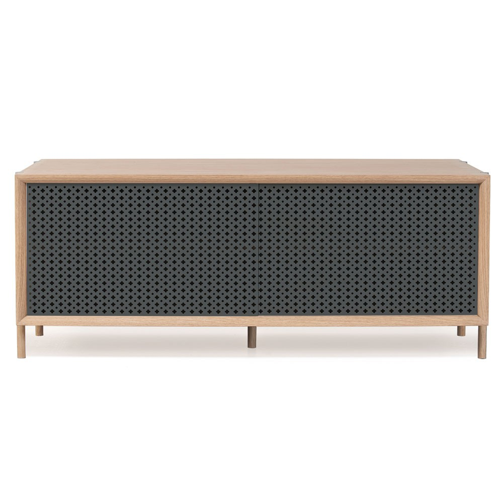 Gabin sideboard 122cm slate grey Hartô