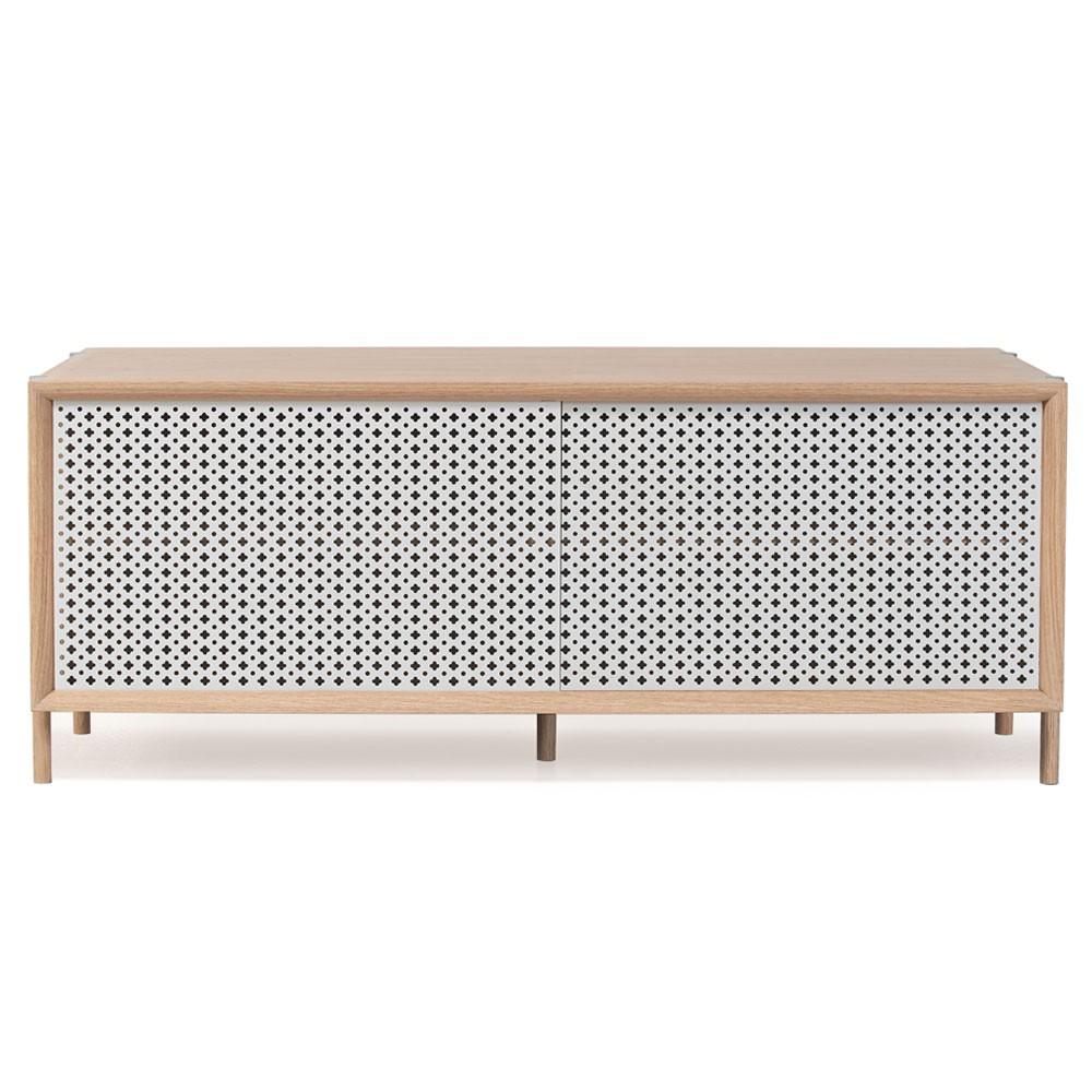 Gabin sideboard 122cm light grey Hartô