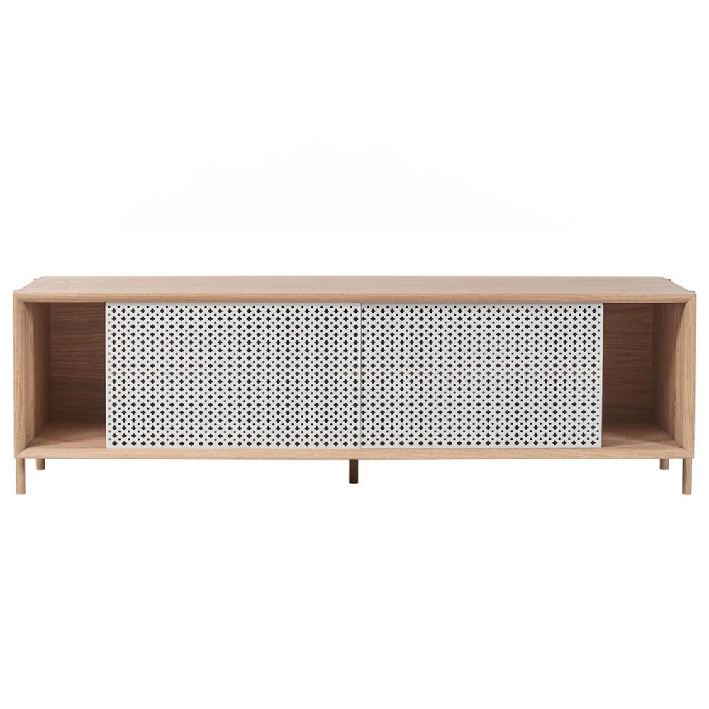 Gabin sideboard 162cm without drawer light grey Hartô