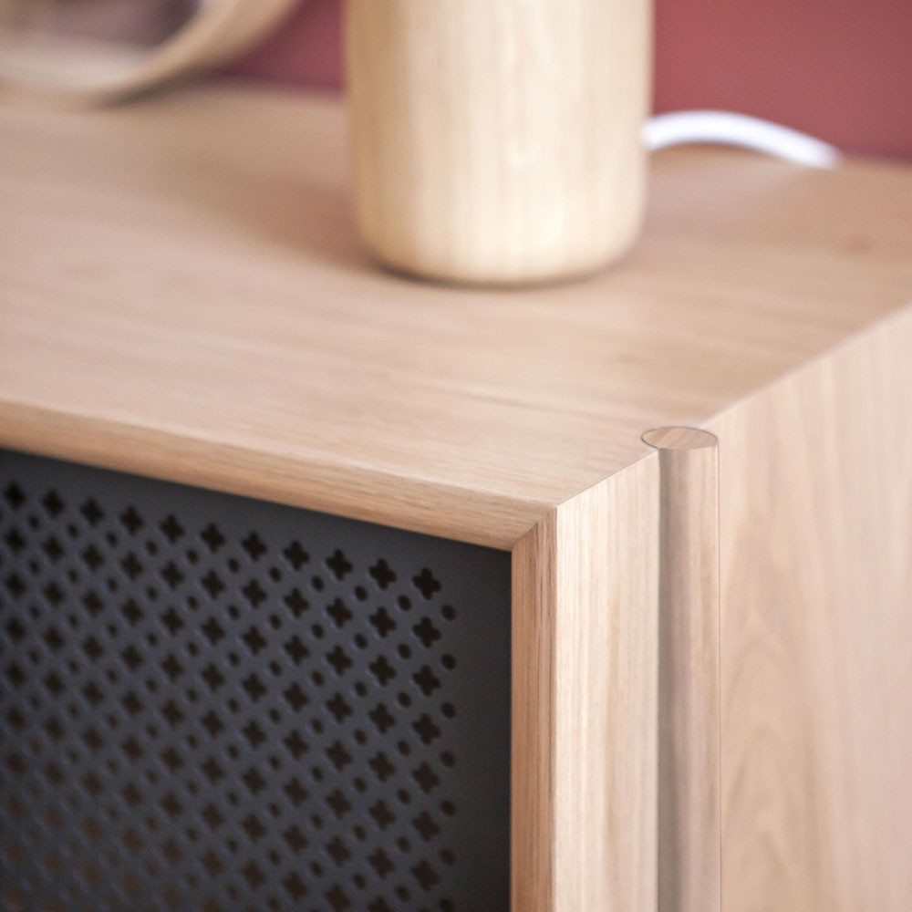 Gabin sideboard 162cm without drawer slate grey Hartô