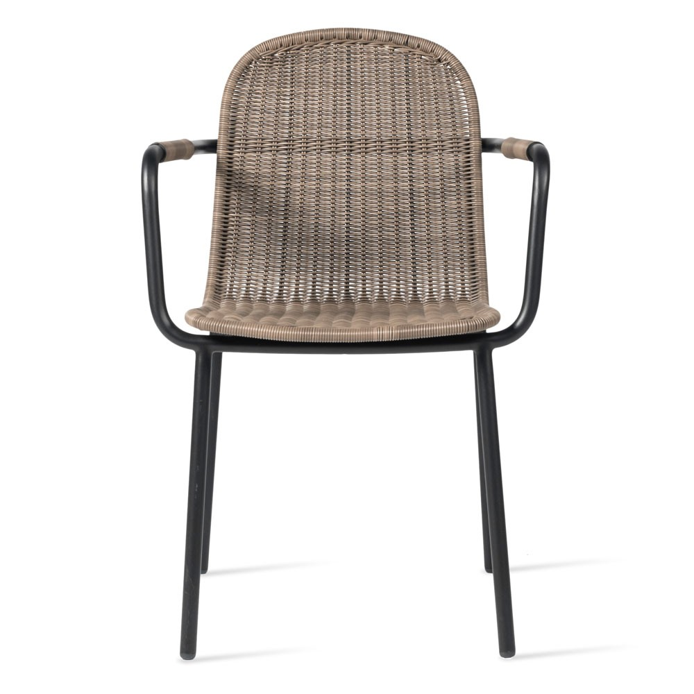 Wicked dining chair taupe Vincent Sheppard
