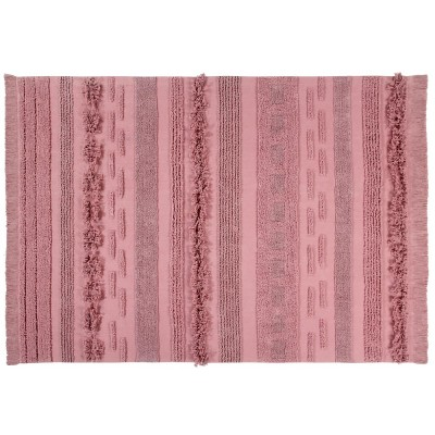 Washable rug Air Canyon pink L Lorena Canals
