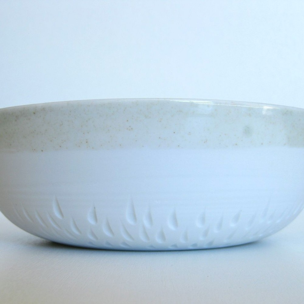 Porcelain and celadon salad bowl Atelier de Williams