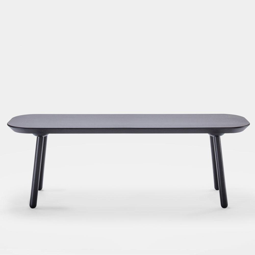 Naïve bench black 140cm