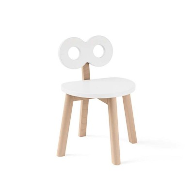Double-O chair white