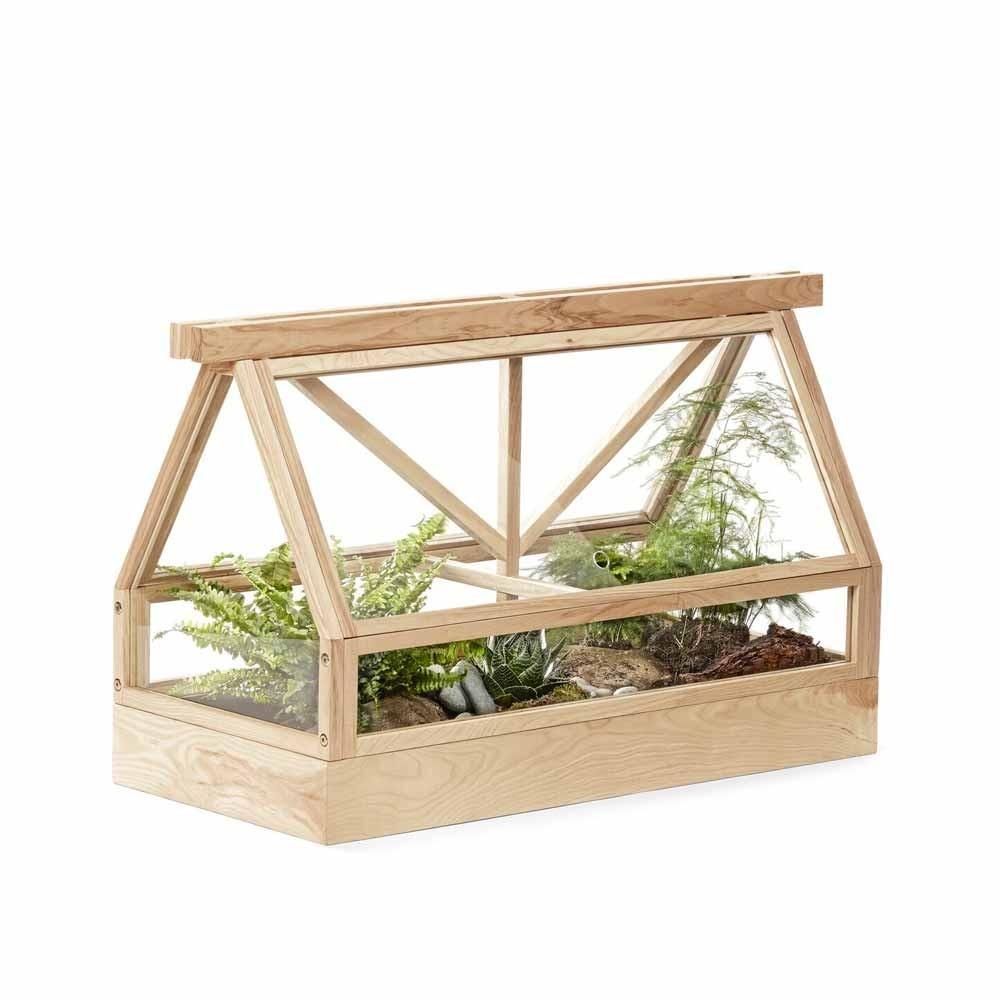 Serre Greenhouse frêne naturel Design House Stockholm