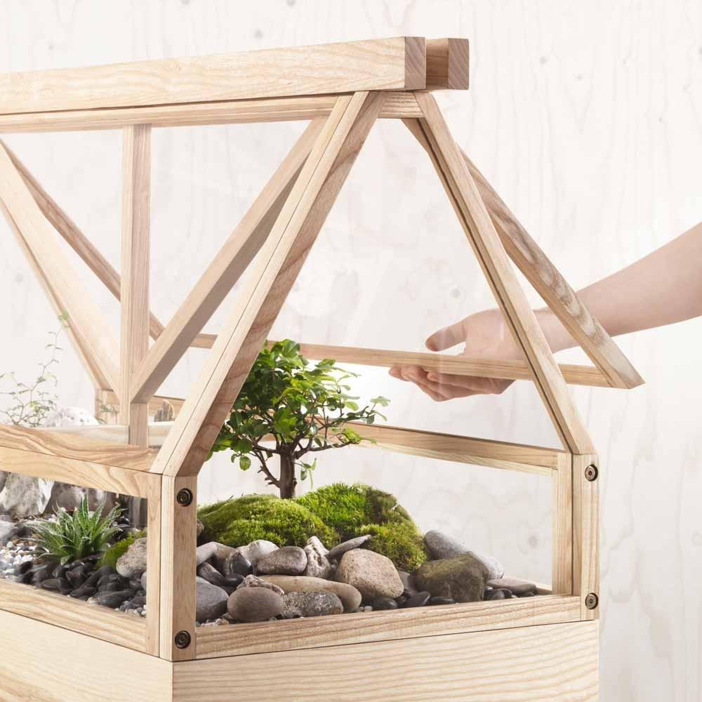 Serre Greenhouse gris foncé Design House Stockholm