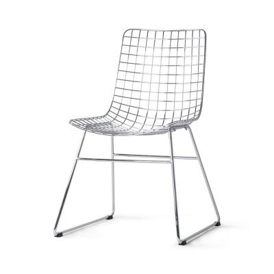 Chaise Wire métal chrome HKliving