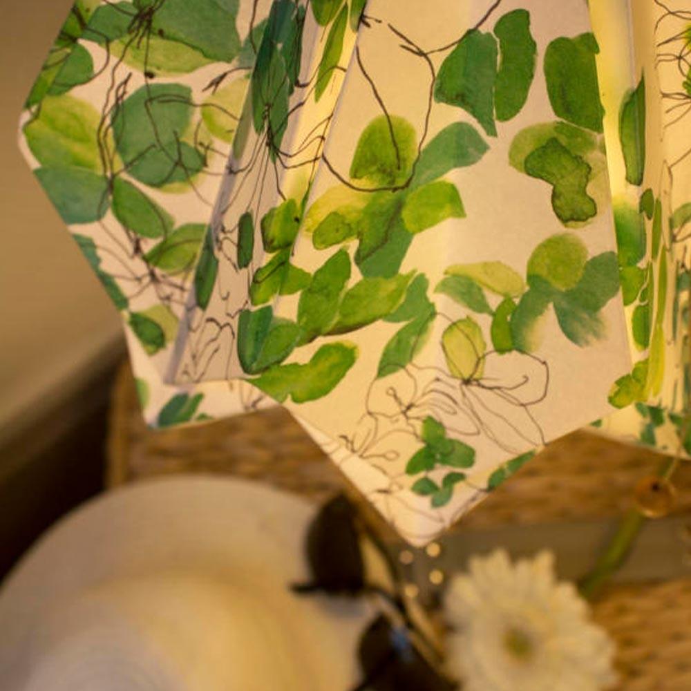 Hanahi Spring pendant lamp Tedzukuri Atelier