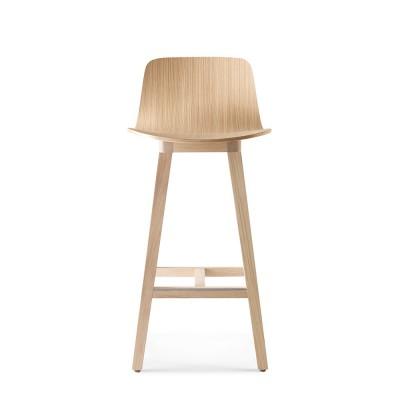 Kuskoa bar chair oak H80 cm Alki