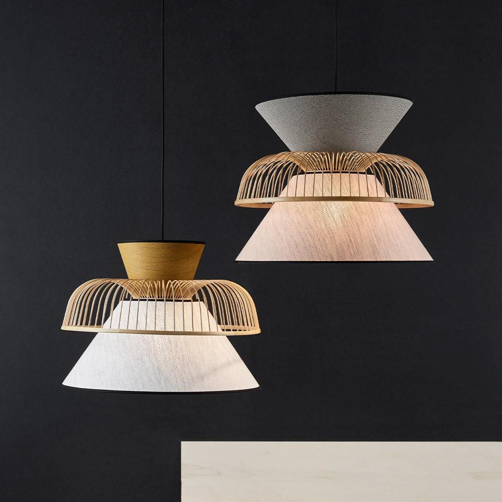 Mekko pendant lamp grey & cream M Market Set