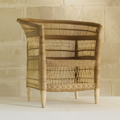 Malawi natural rattan armchair