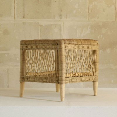 Malawi natural rattan side table AS'ART