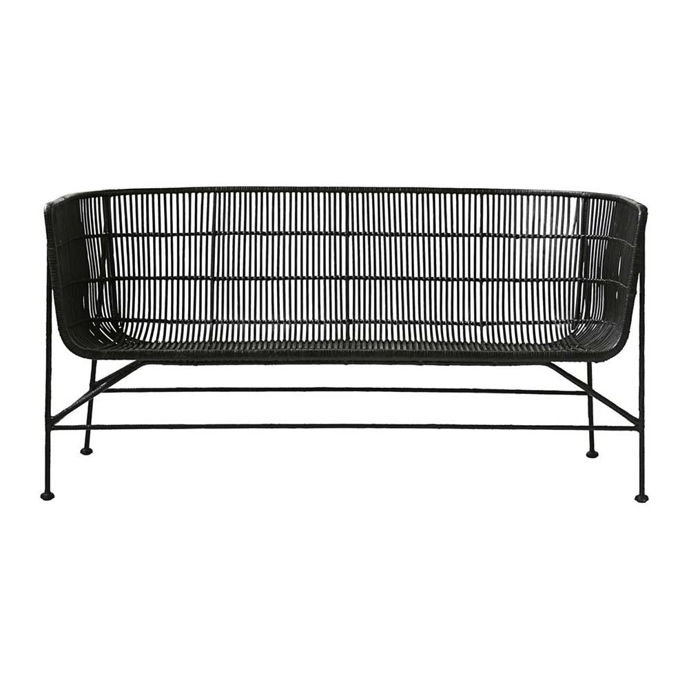 Coon sofa black House Doctor