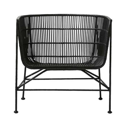 Coon armchair black House Doctor