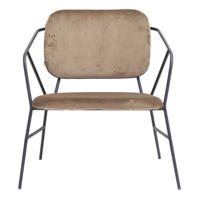 Klever lounge chair brown