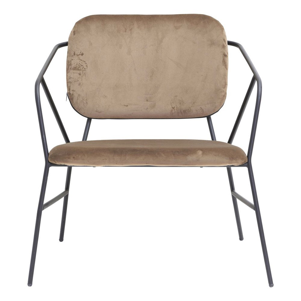 Chaise Klever marron House Doctor