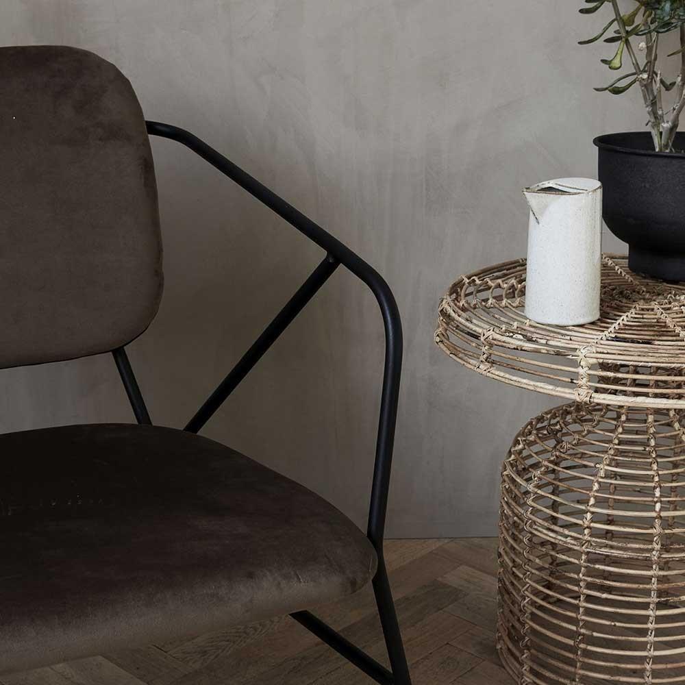 Klever bruine stoel House Doctor