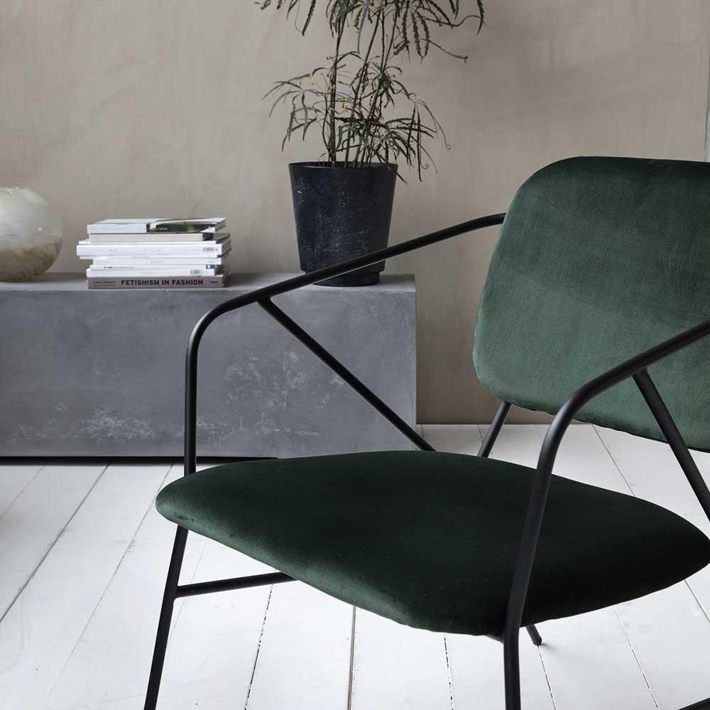 Klever stoel groen House Doctor
