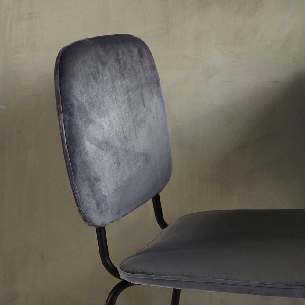 Comma chair grey House Doctor
