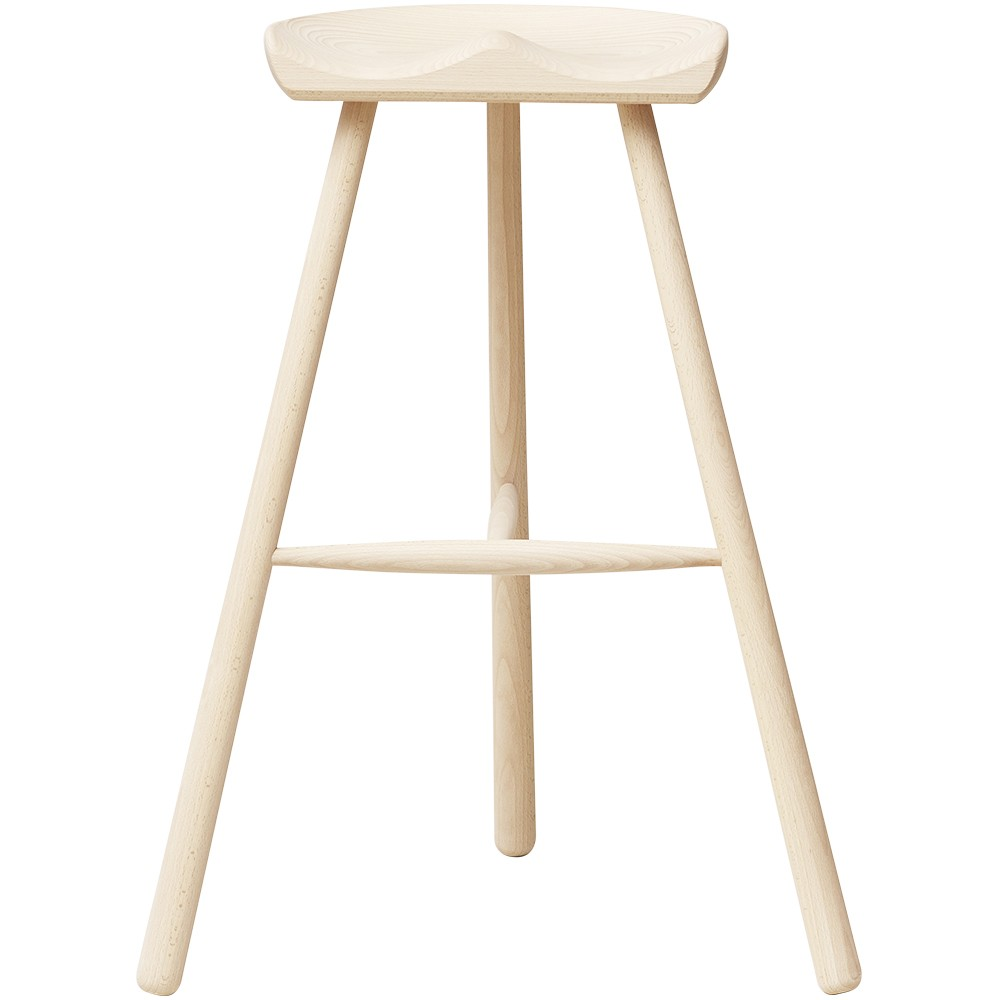 Shoemaker stool in beech n ° 78 Form & Refine