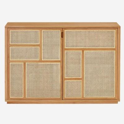 Air dressoir eiken & riet Design House Stockholm