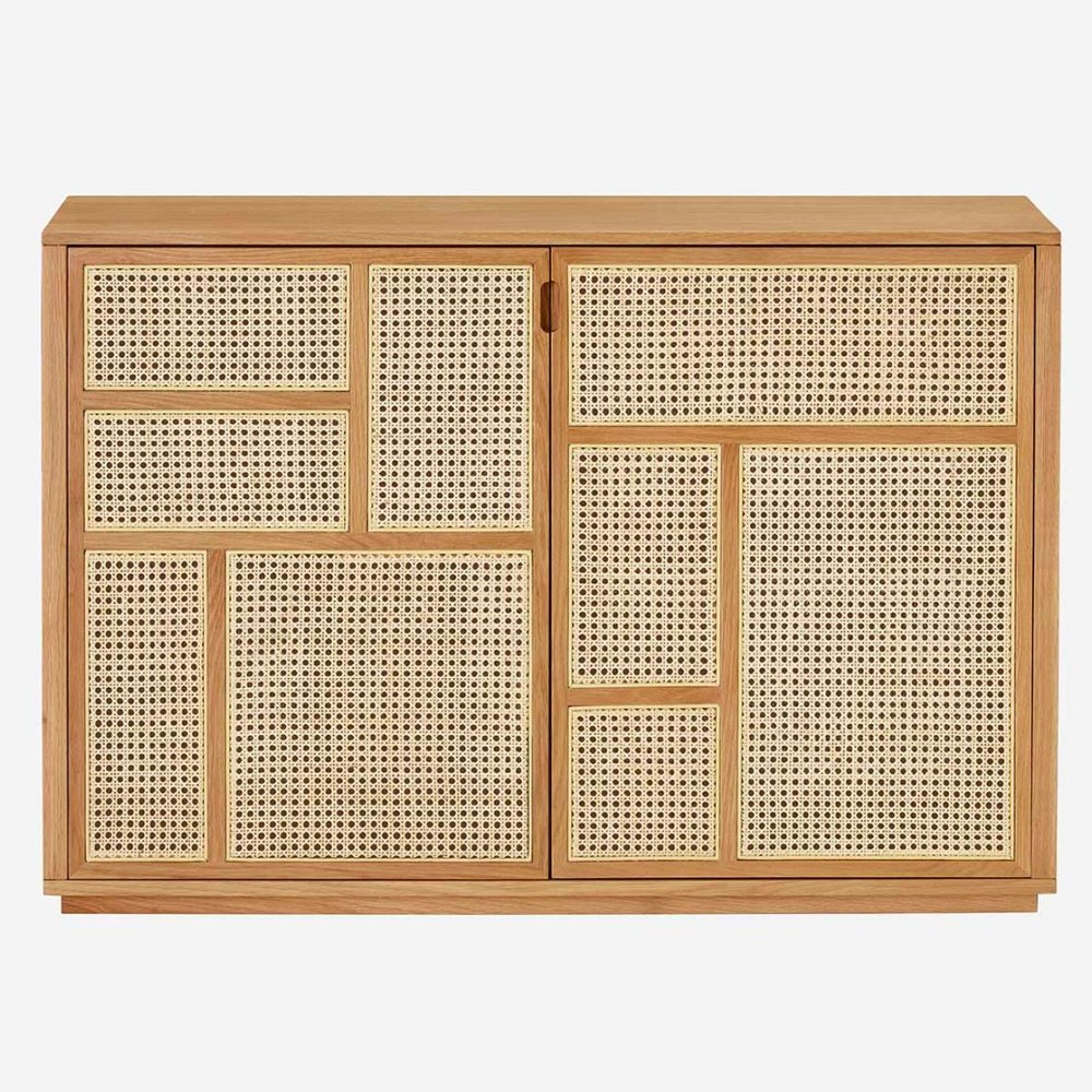 Air sideboard oak & cane Design House Stockholm