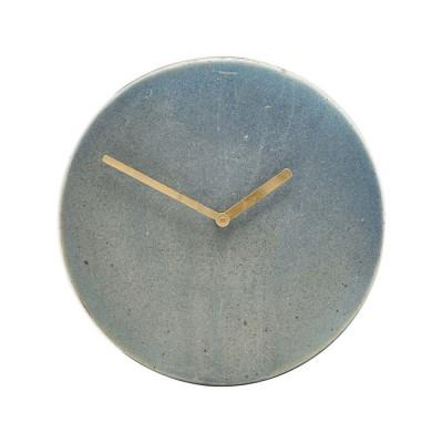 Orologio della metropolitana grigio e blu