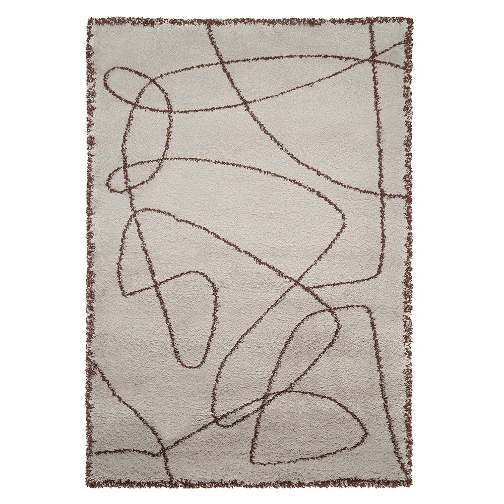Rust Eskiss rug Edito Paris