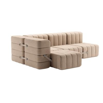 Set of 9 Curt modules - Dama fabric Ambivalenz