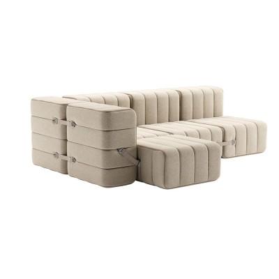 Set of 9 Curt modules - Jet fabric Ambivalenz
