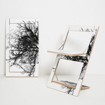 Fläpps Baum folding chair Ambivalenz