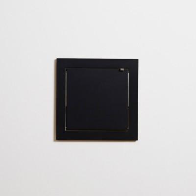 Fläpps shelf 40x40 black Ambivalenz