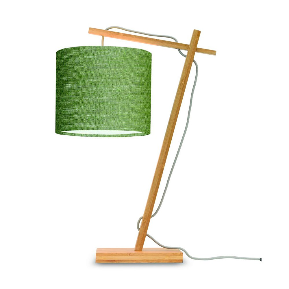 Andes bedside table natural & forest green Good & Mojo
