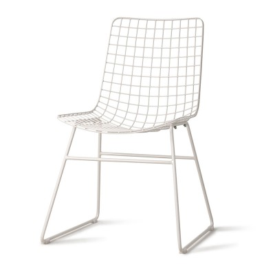 Chaise Wire blanc HKliving