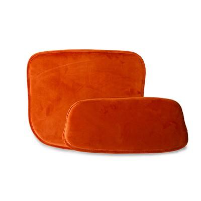 Wire bar stool comfort kit velvet terra HKliving