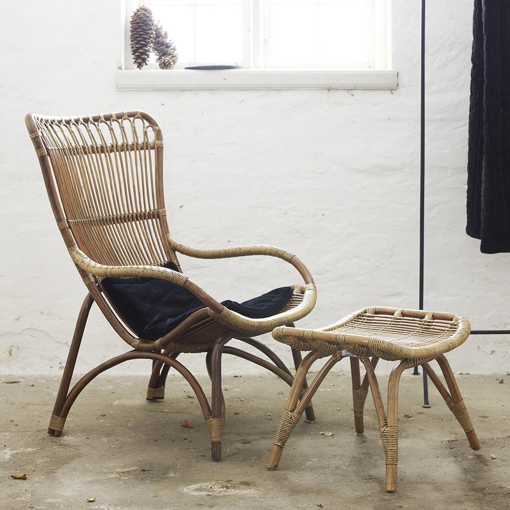 Monet fauteuil naturel Sika-Design