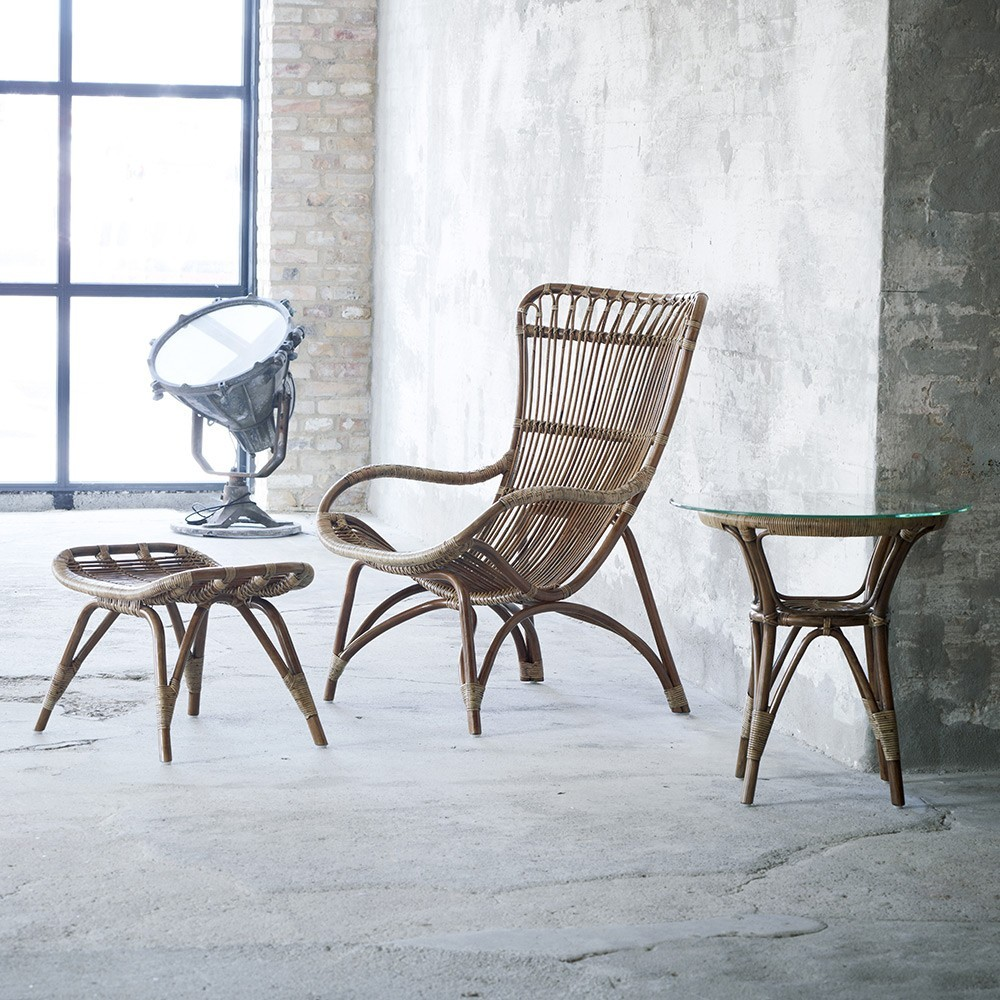 Monet armchair natural Sika-Design