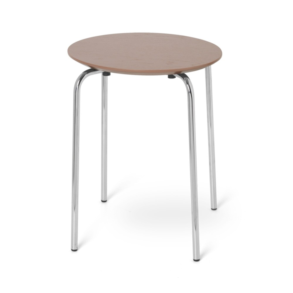 Herman stool old pink & chrome Ferm Living