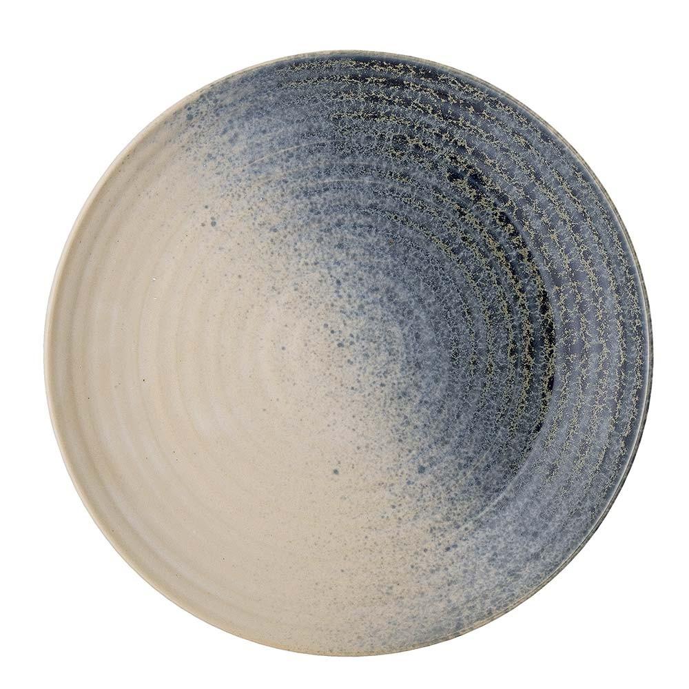 Aura S plate blue Bloomingville