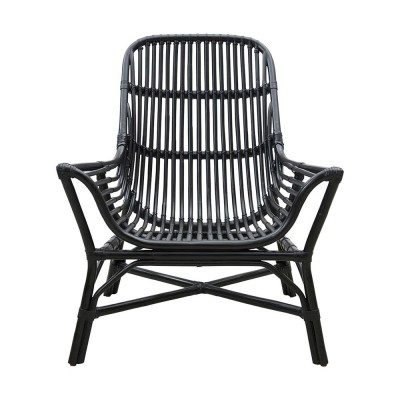 Colony lounge chair black House Doctor