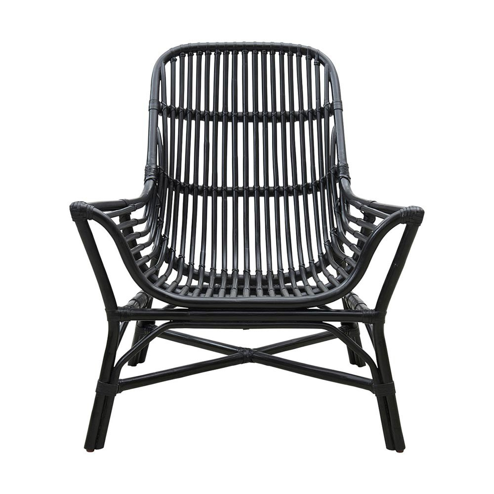 Chaise lounge Colony noir House Doctor